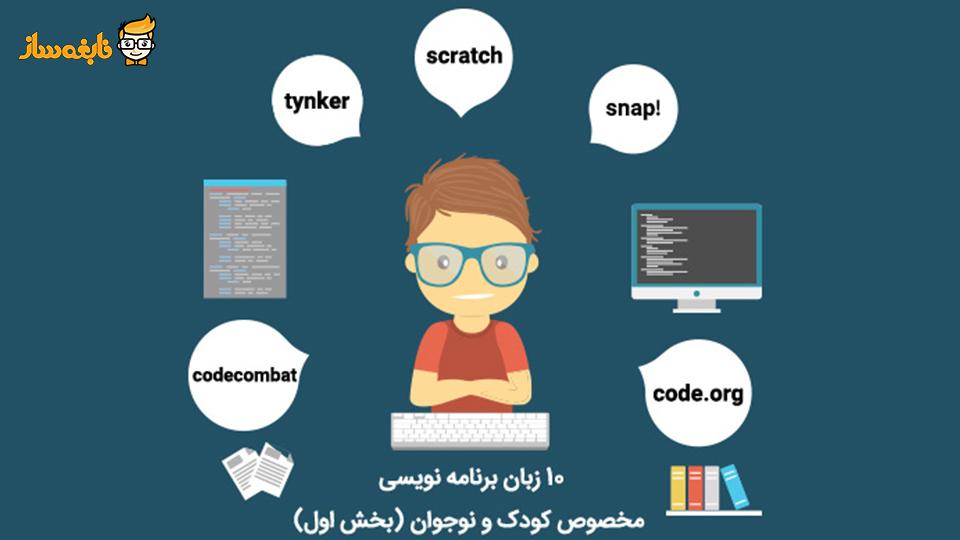 10 زبان برنامهنویسی مخصوص کودک و نوجوان (بخش اول)