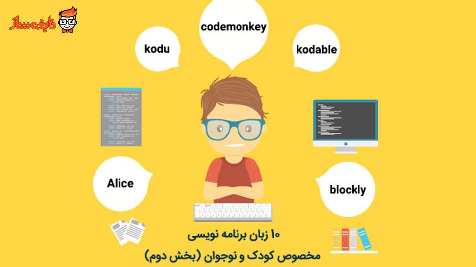 10 زبان برنامه نویسی مخصوص کودک و نوجوان (بخش دوم)
